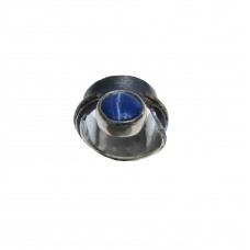 Silver Star Sapphire Ring
