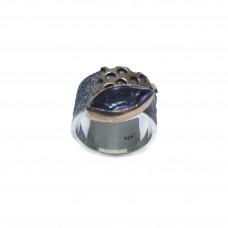 Silver Amethyst Ring