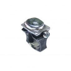 Silver Prenhite Ring
